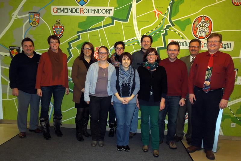 Die Arbeitsgemeinschaft Familie im Februar 2013