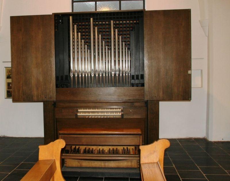 Mechanische Orgel