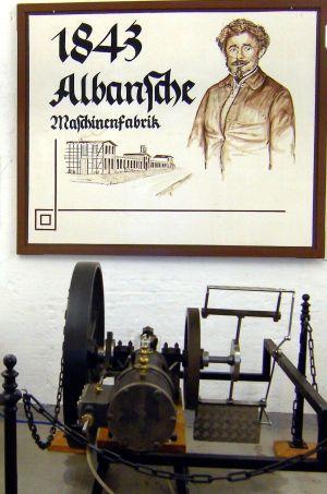 Albans Ruderantrieb