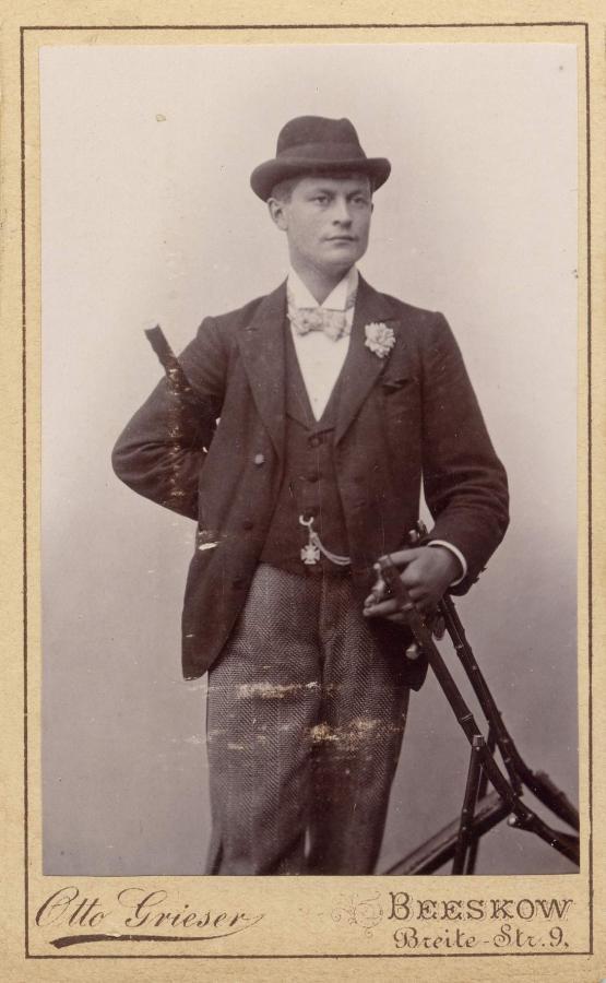 Alfred Richter, ©Stephan Becker, Brüssow