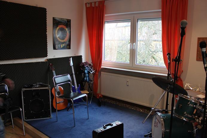 Musikzimmer in der Allee 10 in Roth