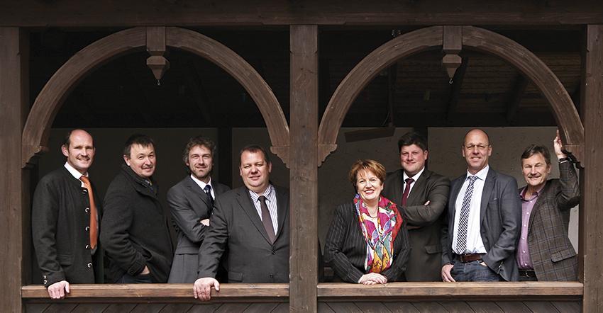 Die Bürgermeister der Brückenauer Rhönallianz