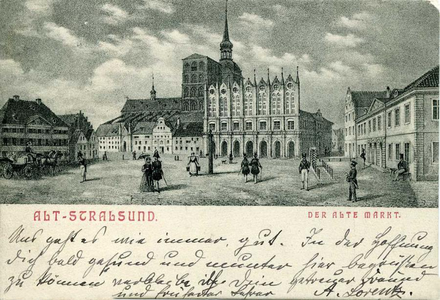 Alt-Stralsund Der Alte Markt