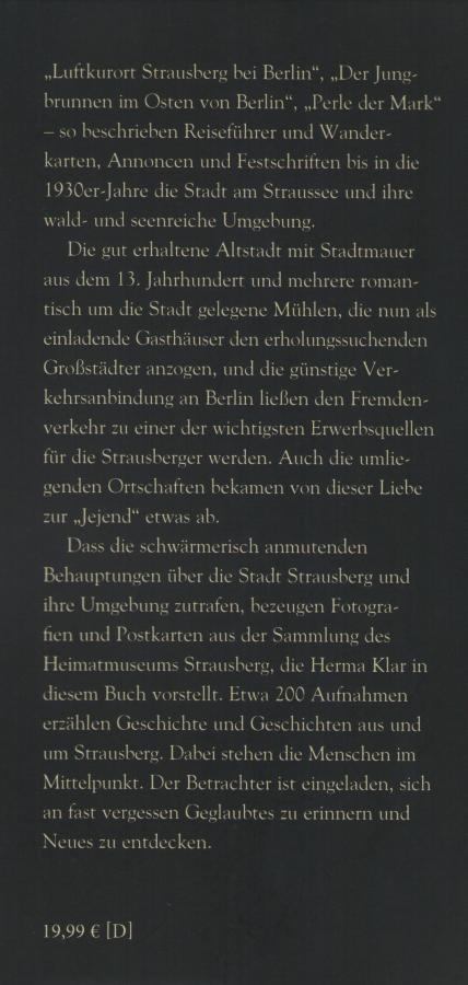 Beschreibung Archivbilder Strausberg