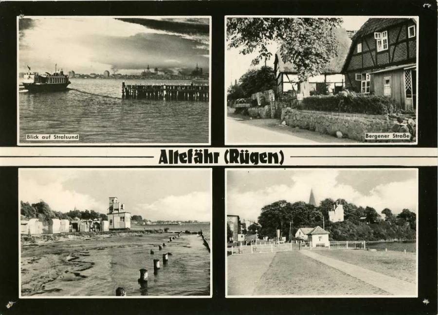 Altefähr (Rügen) 1967