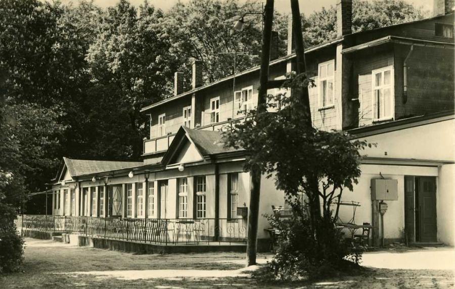 Altefähr (Rügen) Kurhaus 1967