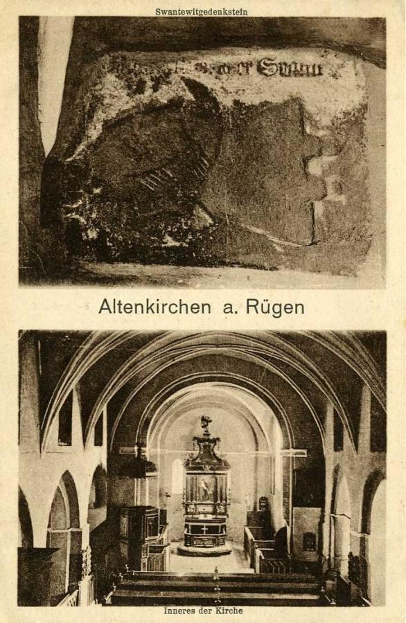 Altenkirchen a. Rügen Inneres der Kirche