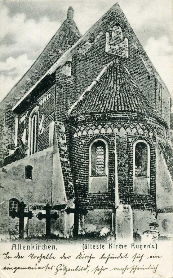 Altenkirchen älteste Kirche Rügens