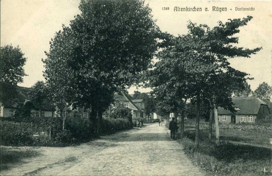Altenkirchen a. Rügen Dorfansicht