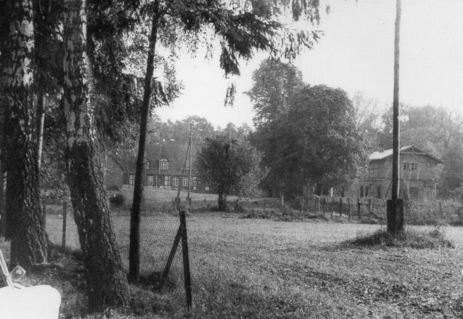 Alter Forsthof Wabel - Ansicht von der Straße