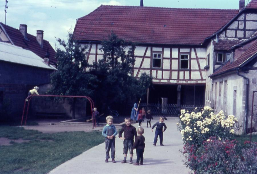 Alte Anstalt in den 60er Jahren