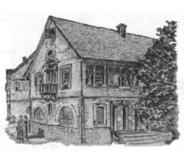 Altes Rathaus an der Ecke Hauptstraße und Heilbronner Straße (1906-1908)