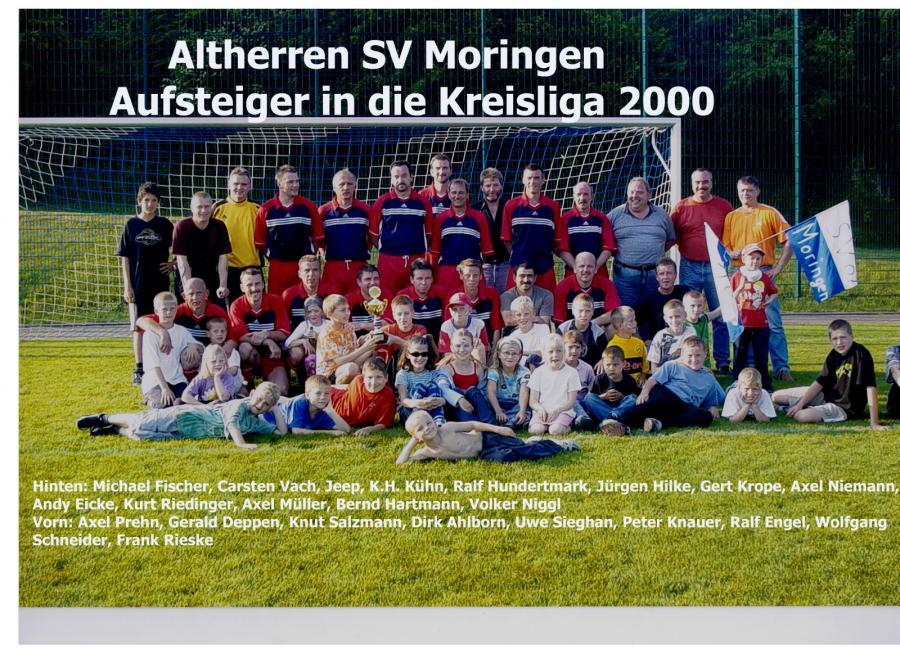 Altherren 1999 - 2000