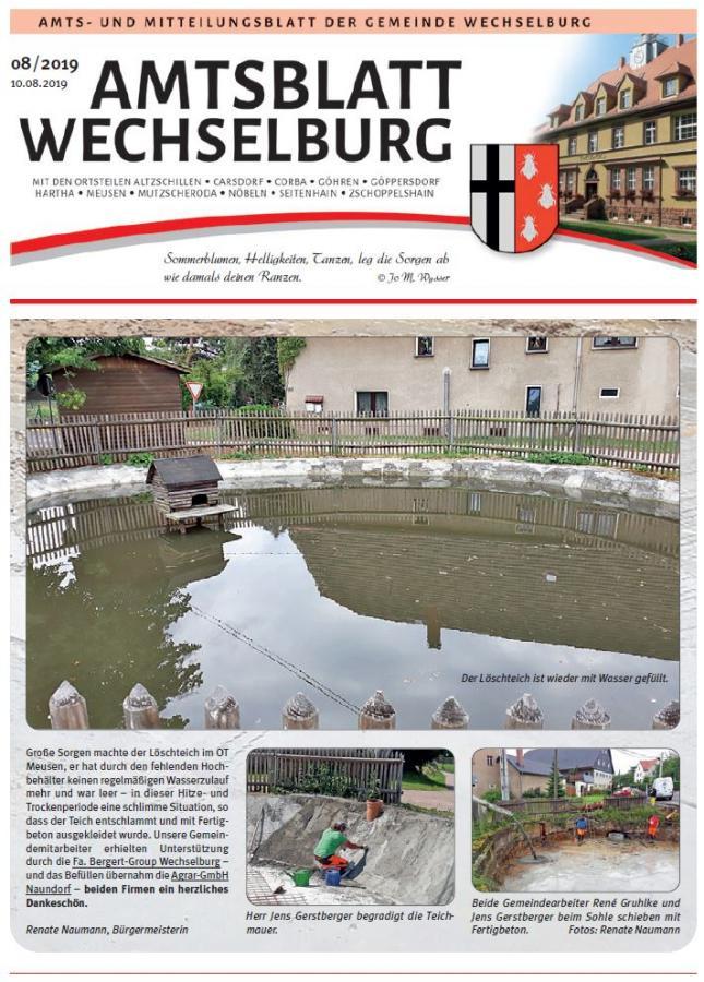 Amtsblatt August 2019