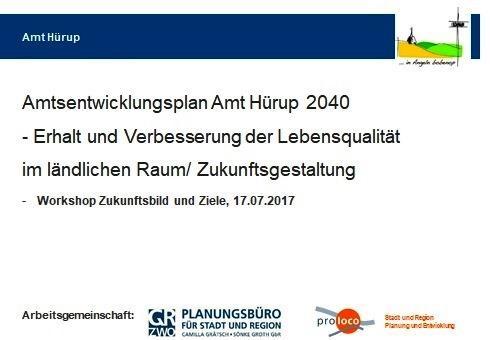 Amtsentwicklungsplan 2040