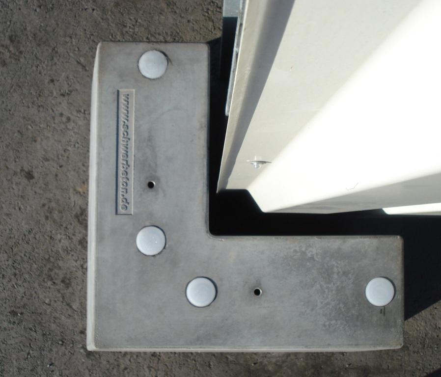 Anfahrschutz AS600 Draufsicht