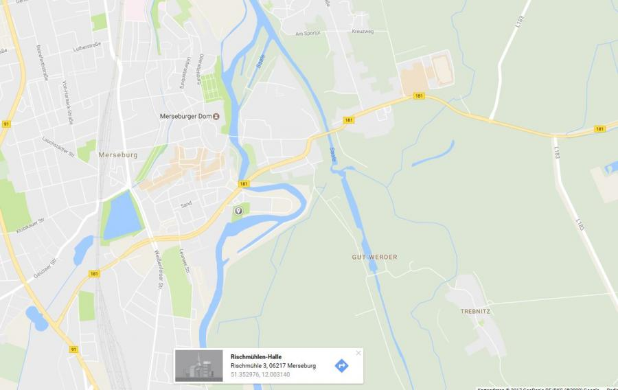 Anfahrt Merseburg