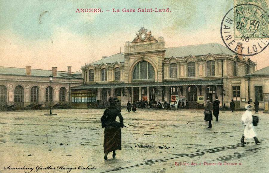 Angers La Gare Saint-Laud