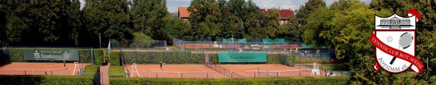 Altehrwürdige Tennisanlage in der Heinrich- Mann- Allee