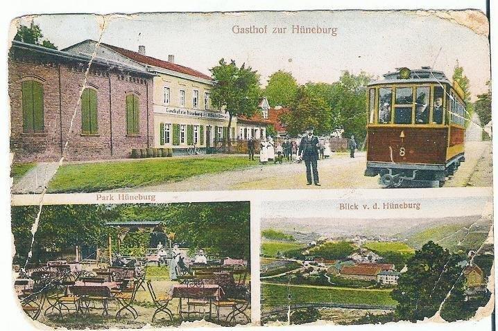 Ansichtskarte Hüneburg