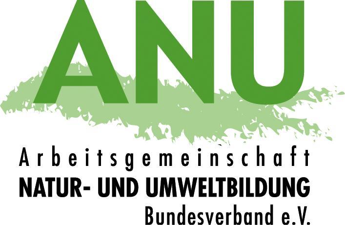 Logo: ANU, Arbeitsgemeinschaft Natur- und Umweltnildung - Bundesverband e.V.