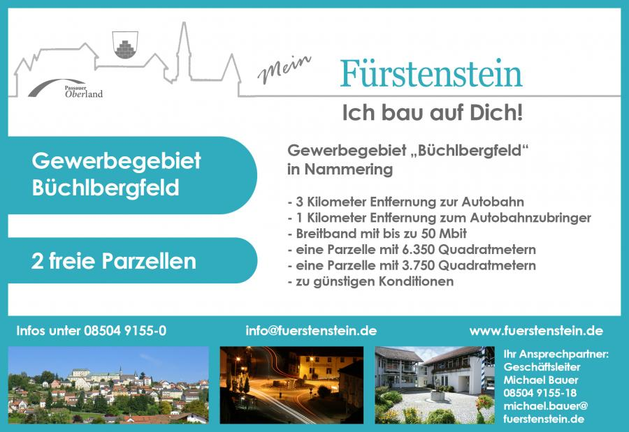 Gewerbegebiet Büchlbergfeld 2017
