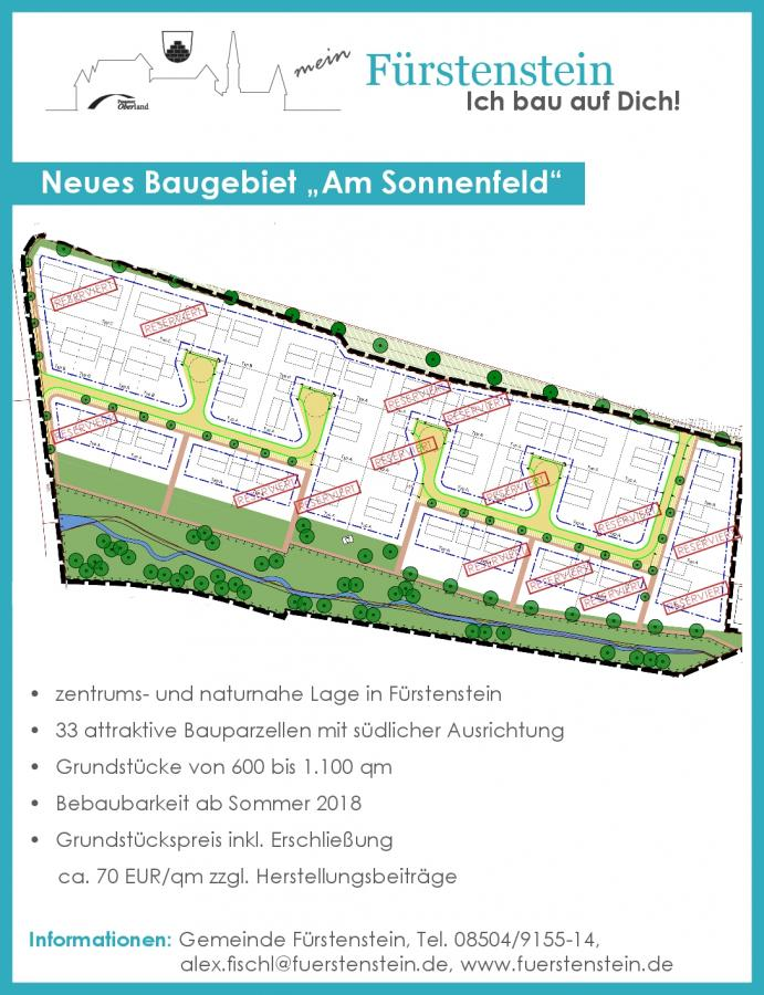 """Baugebiet WA """"Am Sonnenfeld"""