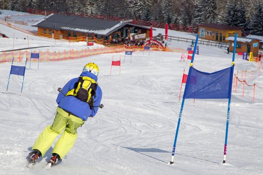 Skifahren am Großen Arber