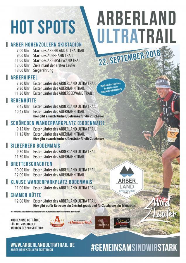 Arberland Ultra Trail 2018