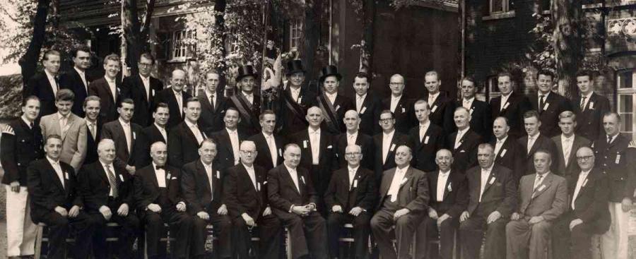 Chor um 1959