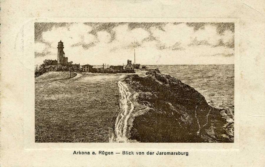 Arkona a. Rügen Blick von der Jaromarsburg