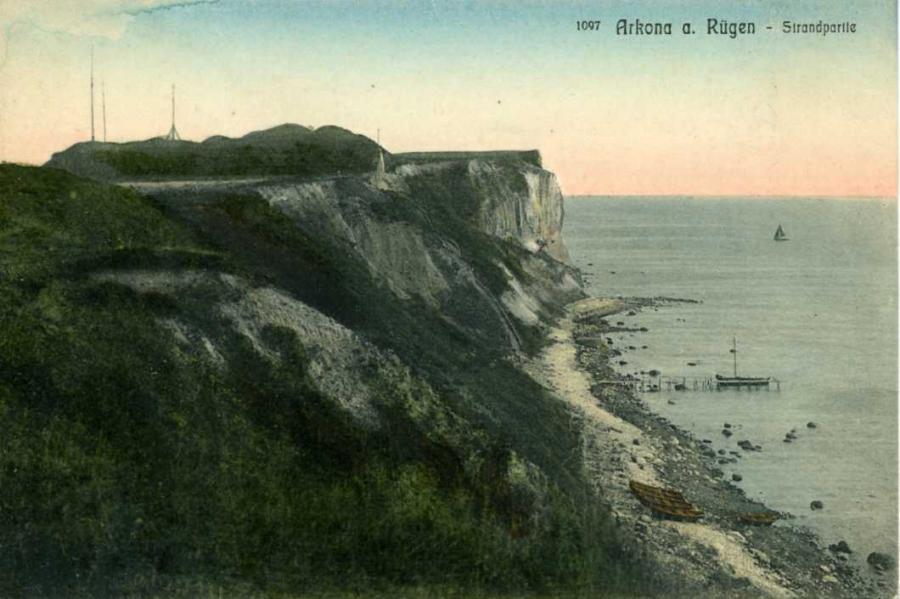 Arkona Strandpartie 1913