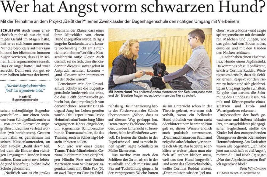 Artikel SN Hund