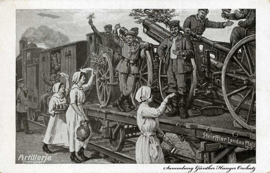 Artillerie Transport
