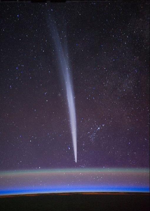 Komet, Bild: NASA/Daniel Burbank