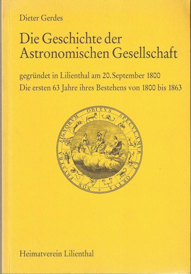 Geschichte astronomische Ges