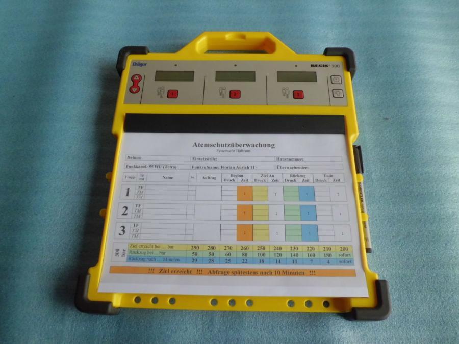 Atemschutzüberwachung - Regis 300 - Dräger - 2014