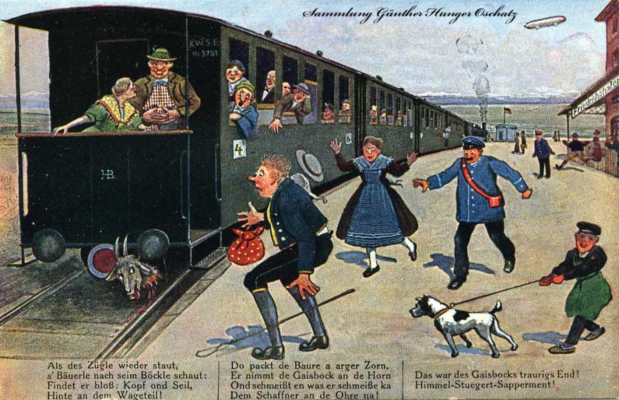 Auf der schwäbische Eisenbahne  4