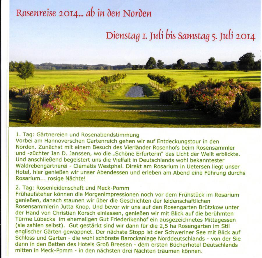 Informationen zu unserer Reise in den Norden