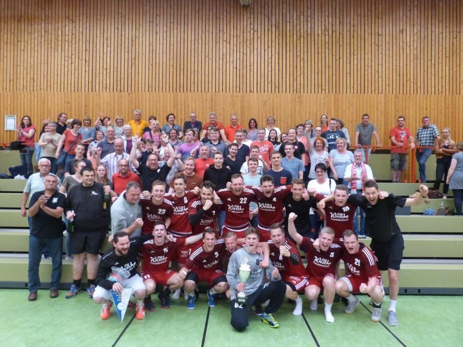 Verbandsliga-Aufstieg 2018 in Langelsheim