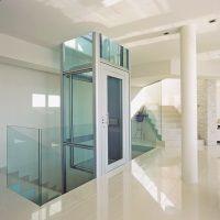 Privatlift im Treppenhaus