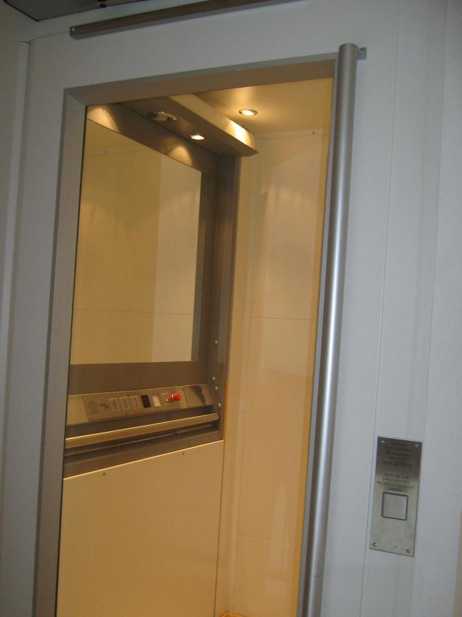 Aufzug MRL, 3 Halt, Innenanlage