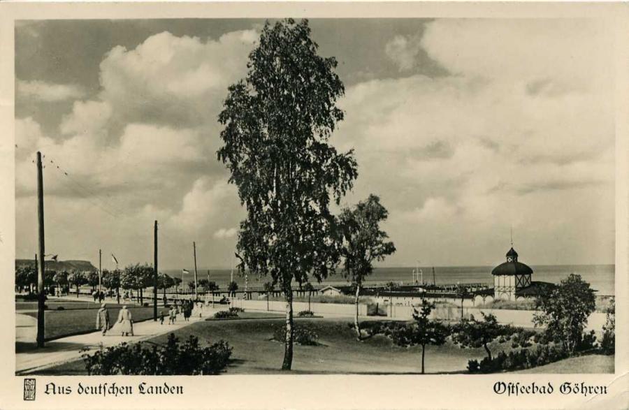 Aus deutschen Landen Ostseebad Göhren 1938