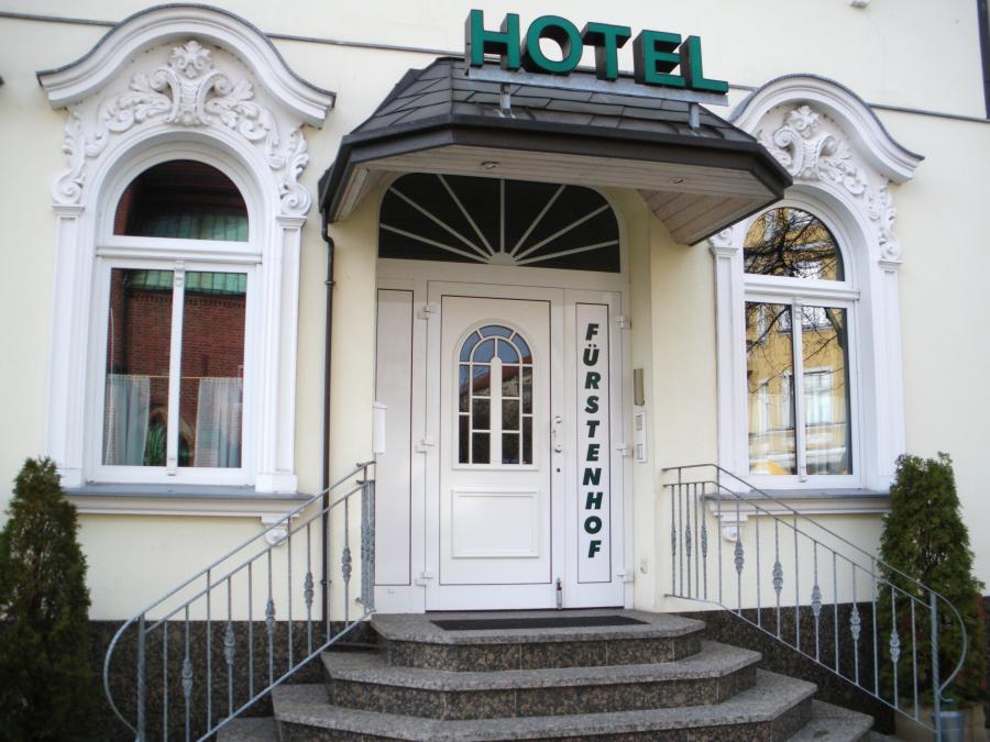 Hotel Eingangstür