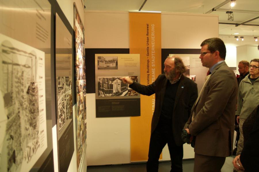 IBA meets IBA Ausstellung im Haus 2