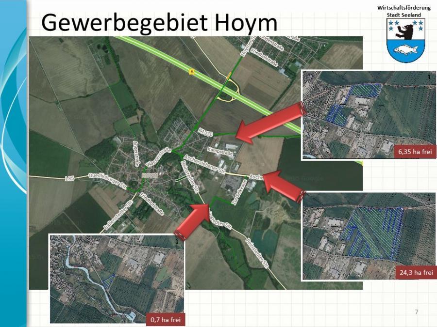 Gewerbegebiete Hoym