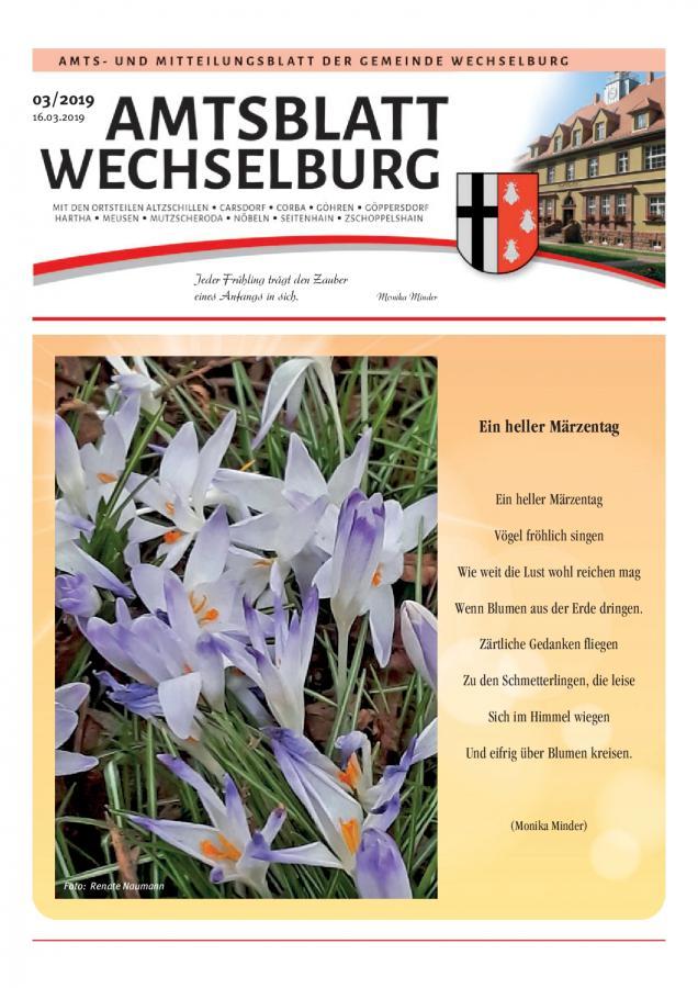 Amtsblatt März