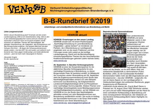 B-B-Rundbrief 9/2019