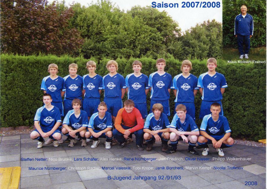 B-Jugend 2007 - 2008