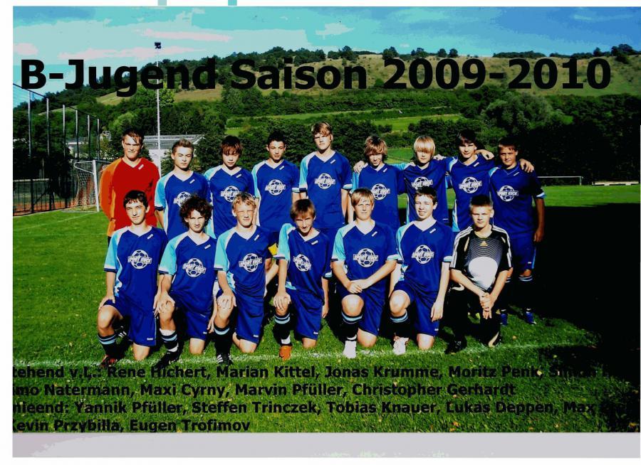 B-Jugend 2009 - 2010